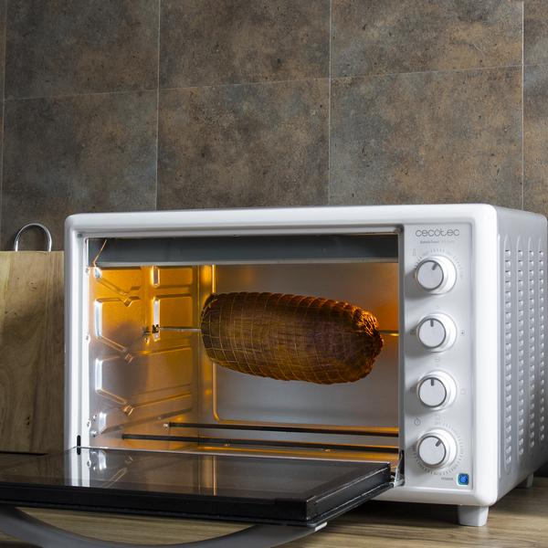 Four à convection Cecotec Bake'n Toast Gyro 1500 Watts Ouvert
