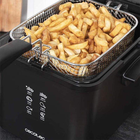Friteuse Friteuse Cecotec CleanFry Infinity 4000 4 L 3270W Noir 03075