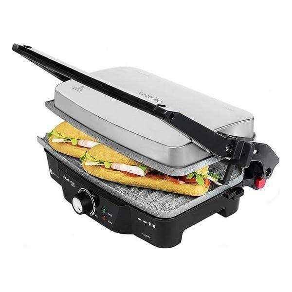 Gril contact Cecotec Rock'n Grill 1500W Acier inoxydable V1704336