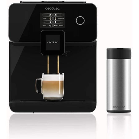 Machine-à-Expresso-Power-Matic-Ccino-8000 Noire-Epheris