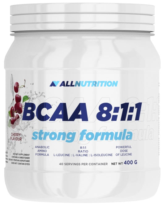 BCAA 8:1:1 Strong Formula, Strawberry - 400g