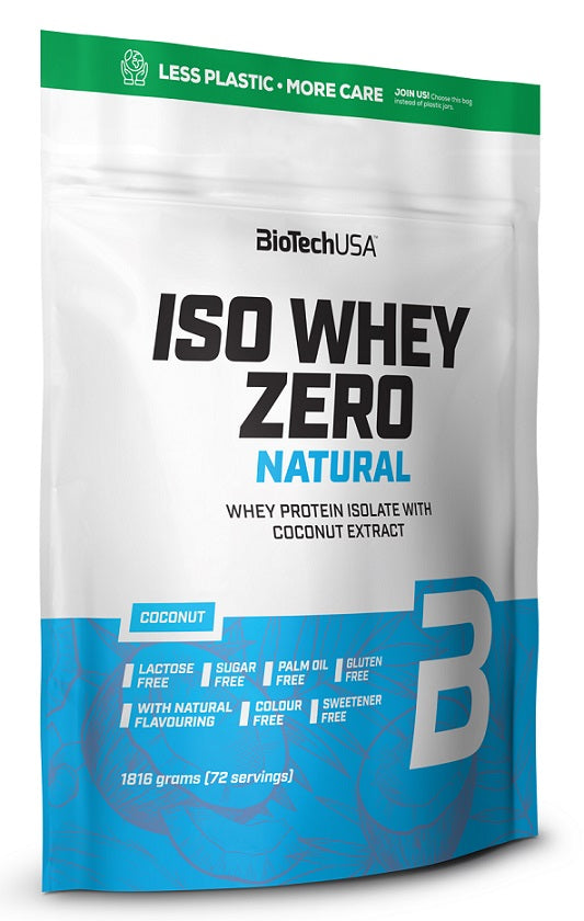 Iso Whey Zero Natural, Strawberry - 1816g