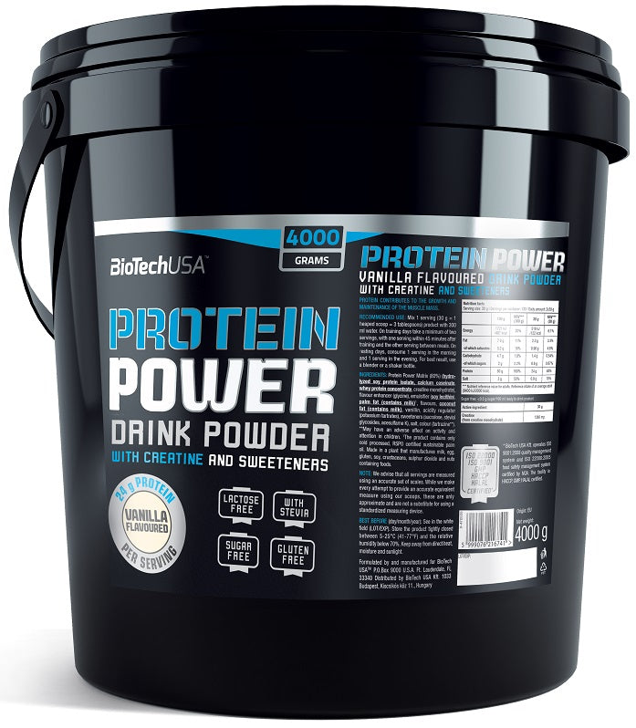 Protein Power, Vanilla - 4000g