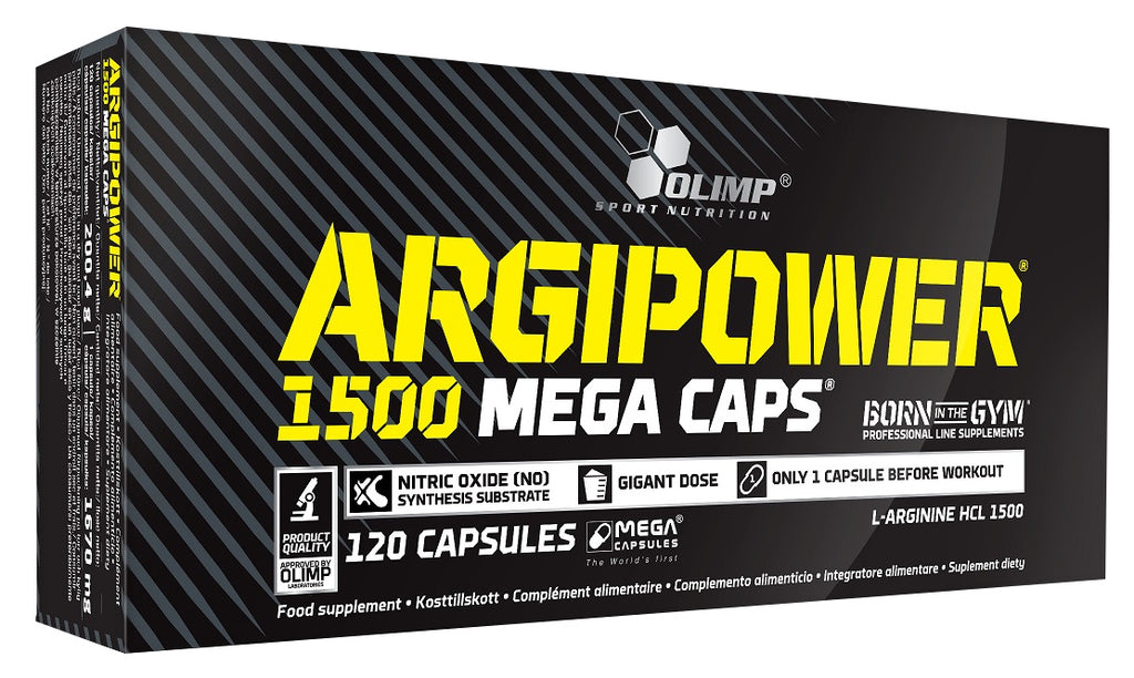 Argi Power 1500, Mega Caps - 120 caps