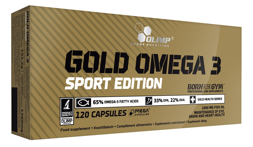 Gold Omega-3 Sport Edition 120 Caps