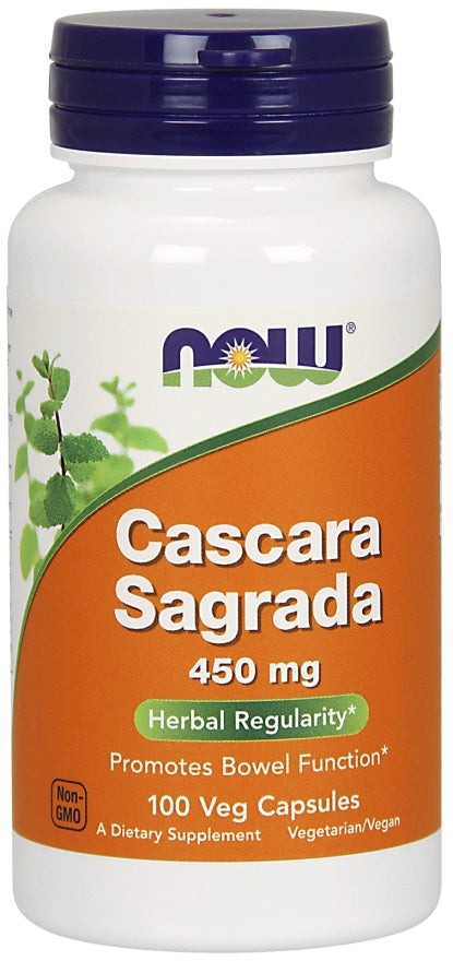 Cascara Sagrada, 450mg - 100 vcaps