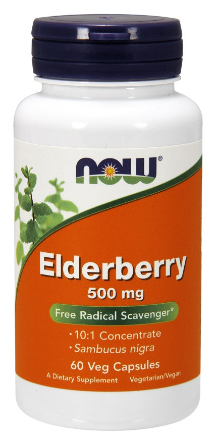 Elderberry, 500mg - 60 vcaps