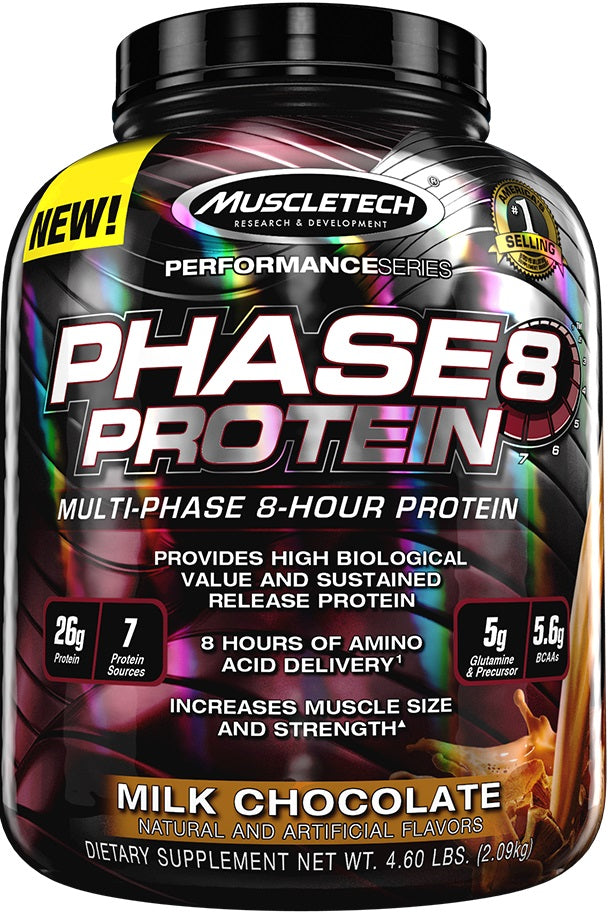 Phase8 Protein, Milk Chocolate - 2090g