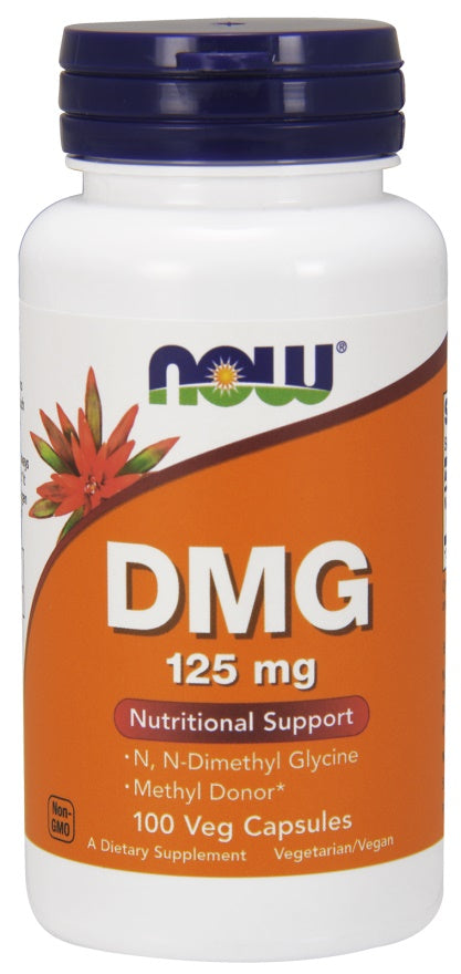 DMG (Dimethylglycine), 125mg - 100 vcaps
