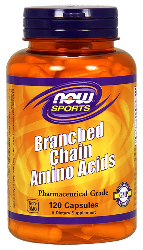 BCAA - Branched Chain Amino Acids - 120 caps