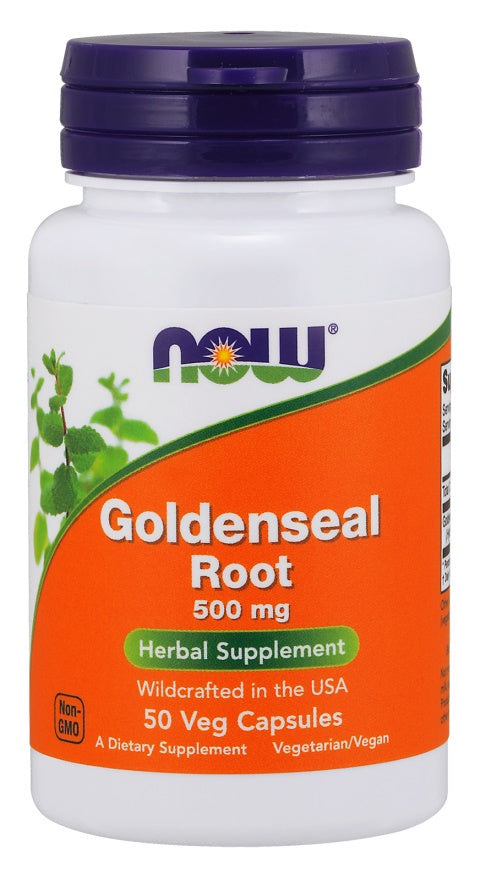 Goldenseal Root, 500mg - 50 vcaps