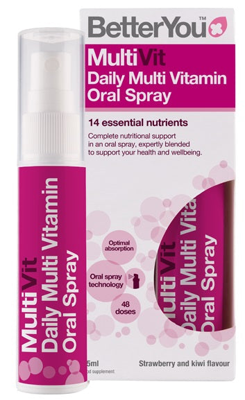 MultiVit, Blackcurrant and Plum - 25 ml.