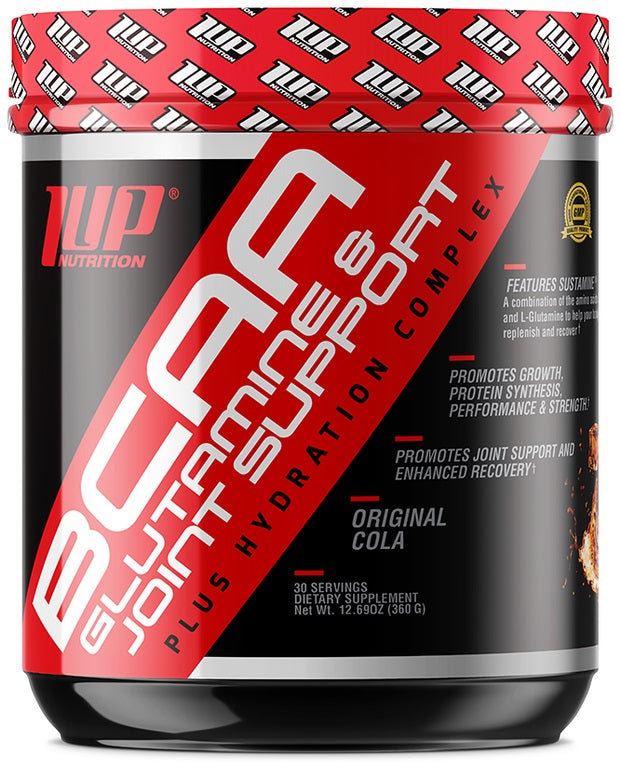 His BCAA's Glutamine & Joint Support Plus Hydration Complex, Raspberry Lemonade - 360g