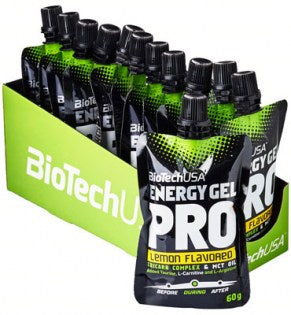 Energy Gel Pro, Lemon - 12 x 60 ml.