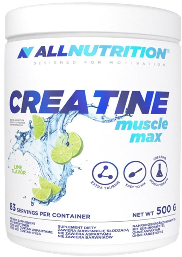 Creatine Muscle Max, Strawberry - 500g