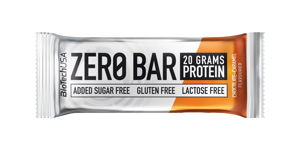 Zero Bar, Chocolate-Caramel - 20 x 50g