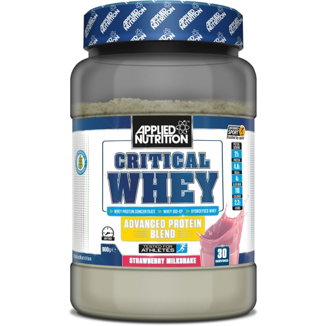 Critical Whey, Strawberry - 900g