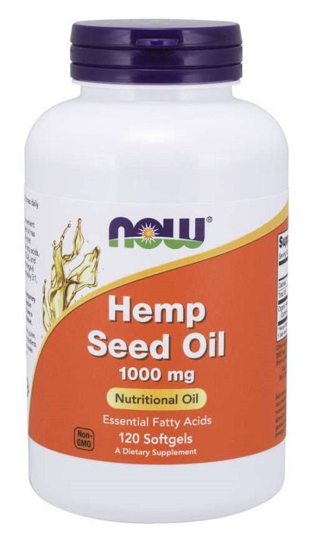 Hemp Seed Oil, 1000mg - 120 softgels