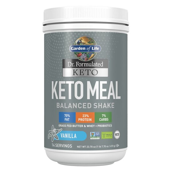 Dr. Formulated Keto Meal, Vanilla - 672g