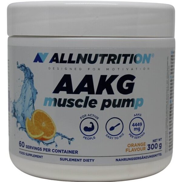 AAKG Muscle Pump, Orange - 300g