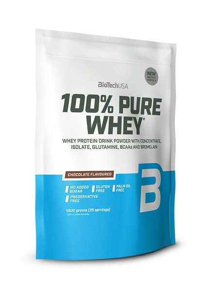 100% Pure Whey, Cookies & Cream - 1000g