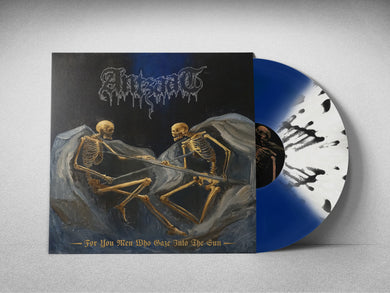 For You Men Who Gaze Into The Sun (Transparent Royal Blue / Opaque Bone Quad with Black Splatter vinyl + A2 Poster)