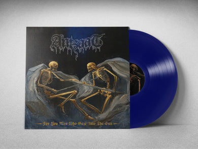 For You Men Who Gaze Into The Sun (Transparent Royal Blue vinyl + A2 Poster)