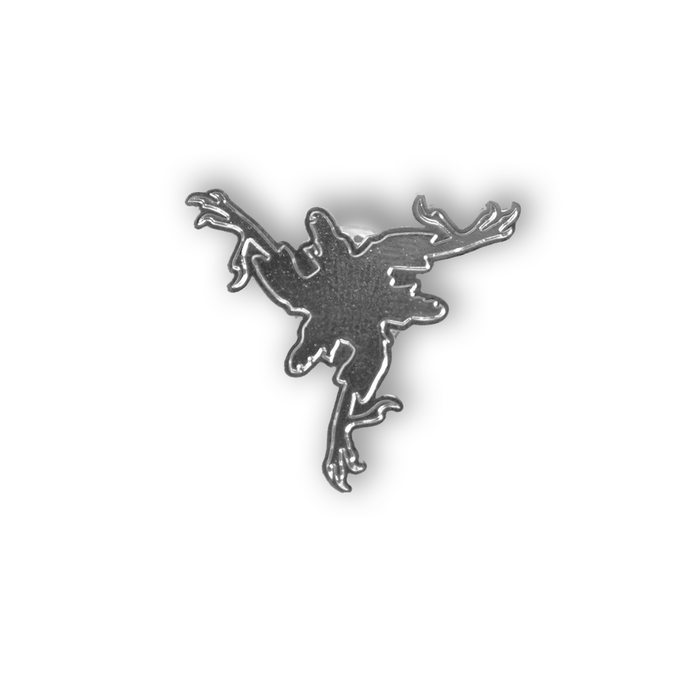 Pin Amenra - Tripod Silver (large)