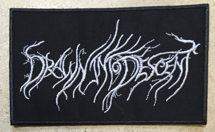 Embroidered patch Drawn Into Descent