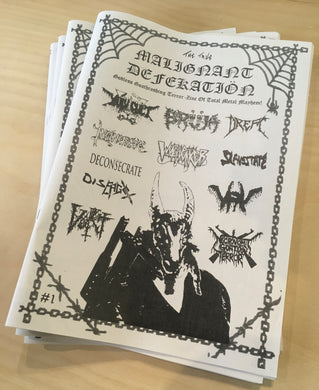 Zine - The True Malignant Defekatiön