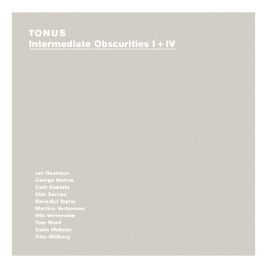 Intermediate Obscurities I + IV