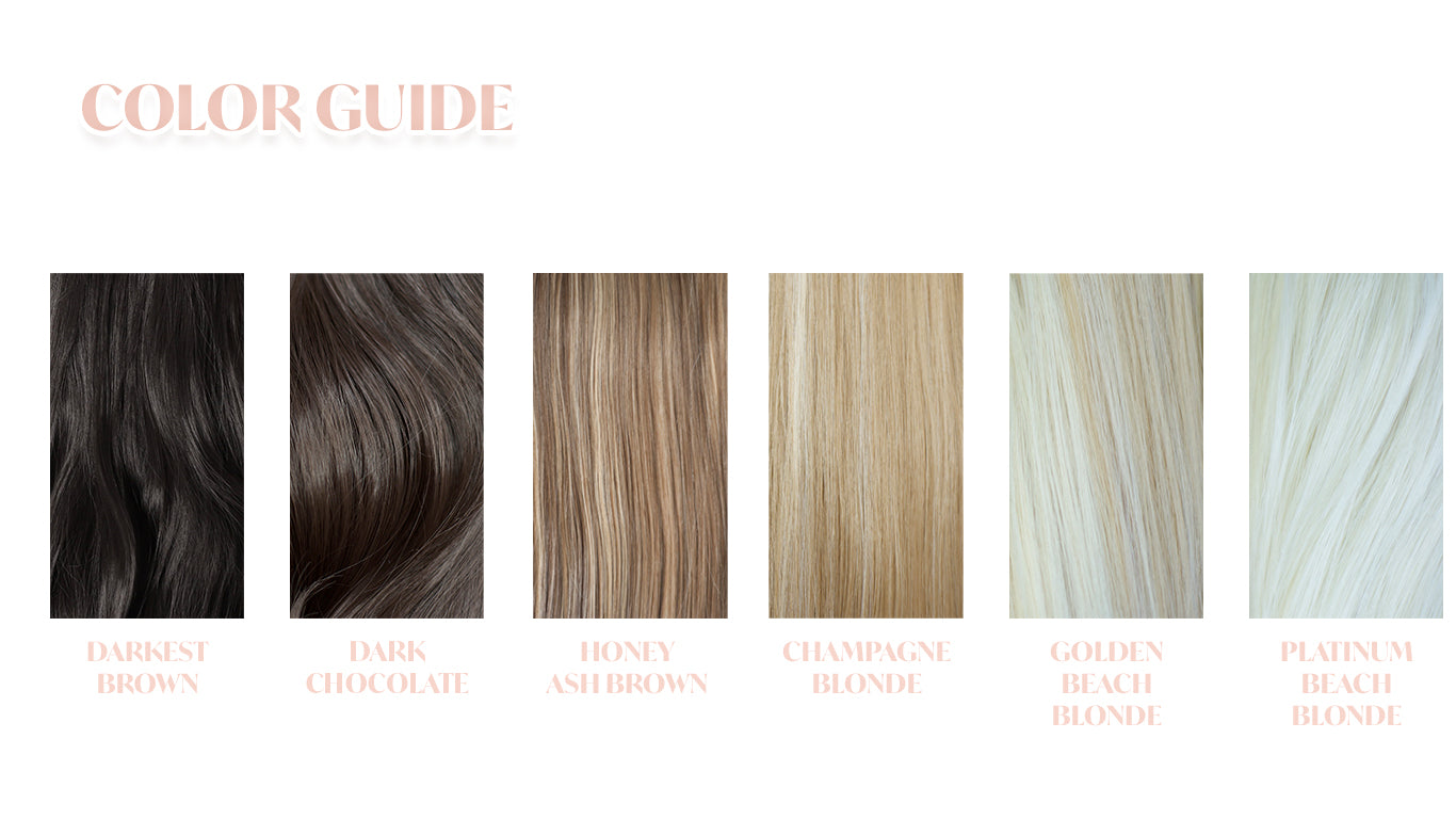 Glamista Hair Color Guide