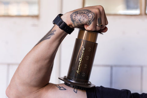 Bad Hand Coffee Aeropress