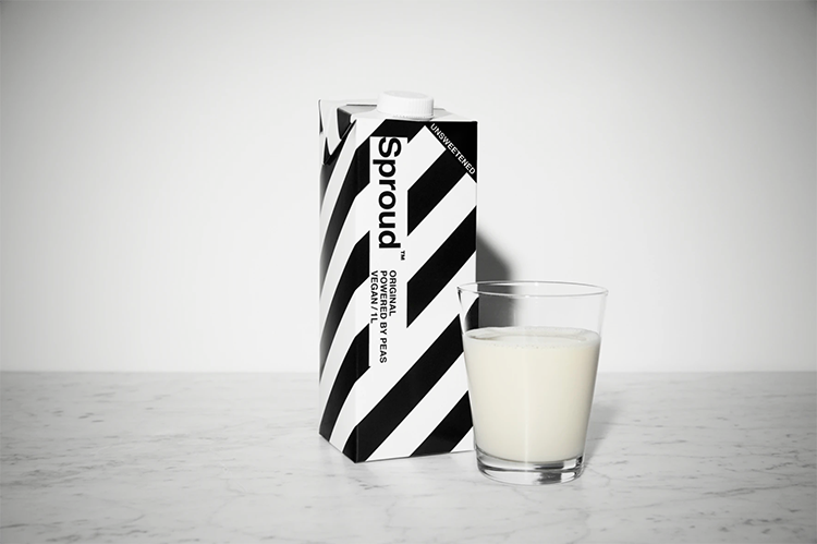 Sproud - non-dairy milk - Bad Hand Coffee