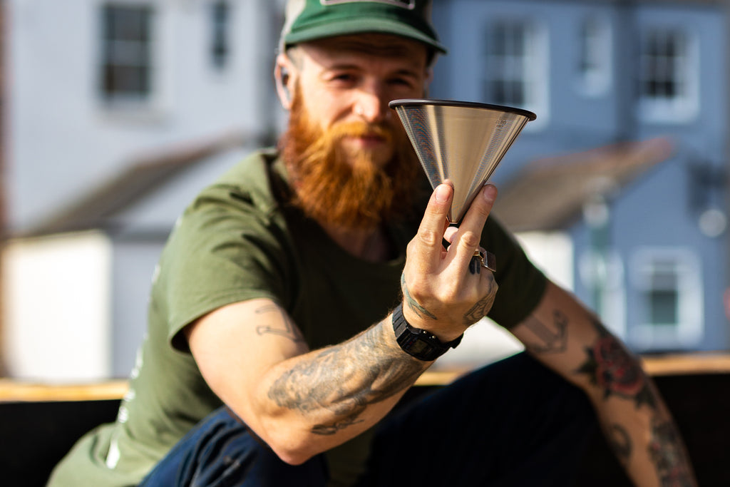 Metal pour over filter (fits V60 and Chemex)