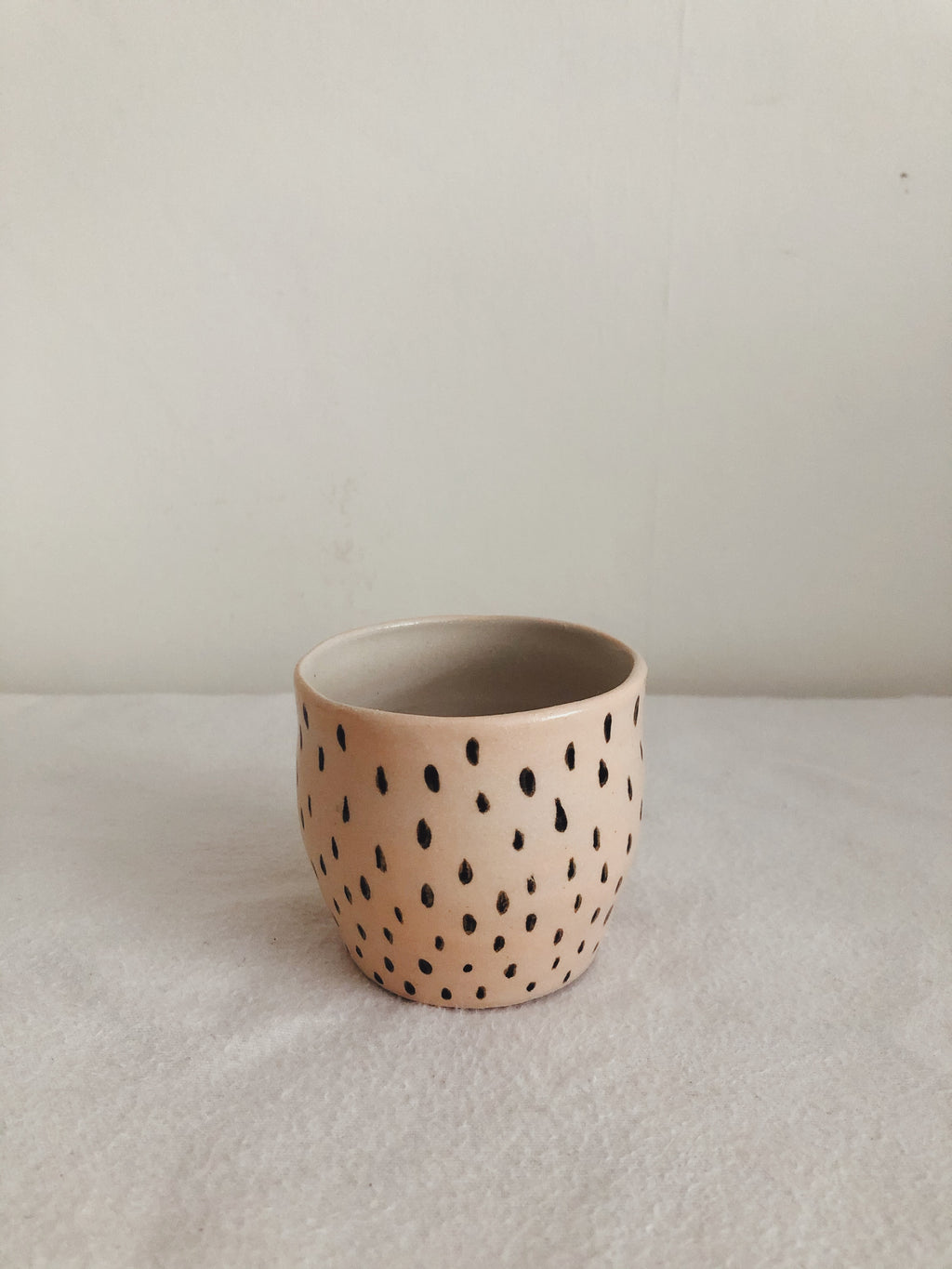 Tuesday Ceramics Peachy Pip espresso cup