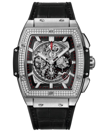 Spirit of Big Bang Diamonds Chronograph