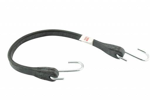 Erickson 06703 - Industrial EPDM Rubber Tarp Strap 24? hook to hook  (21? rubber to rubber)
