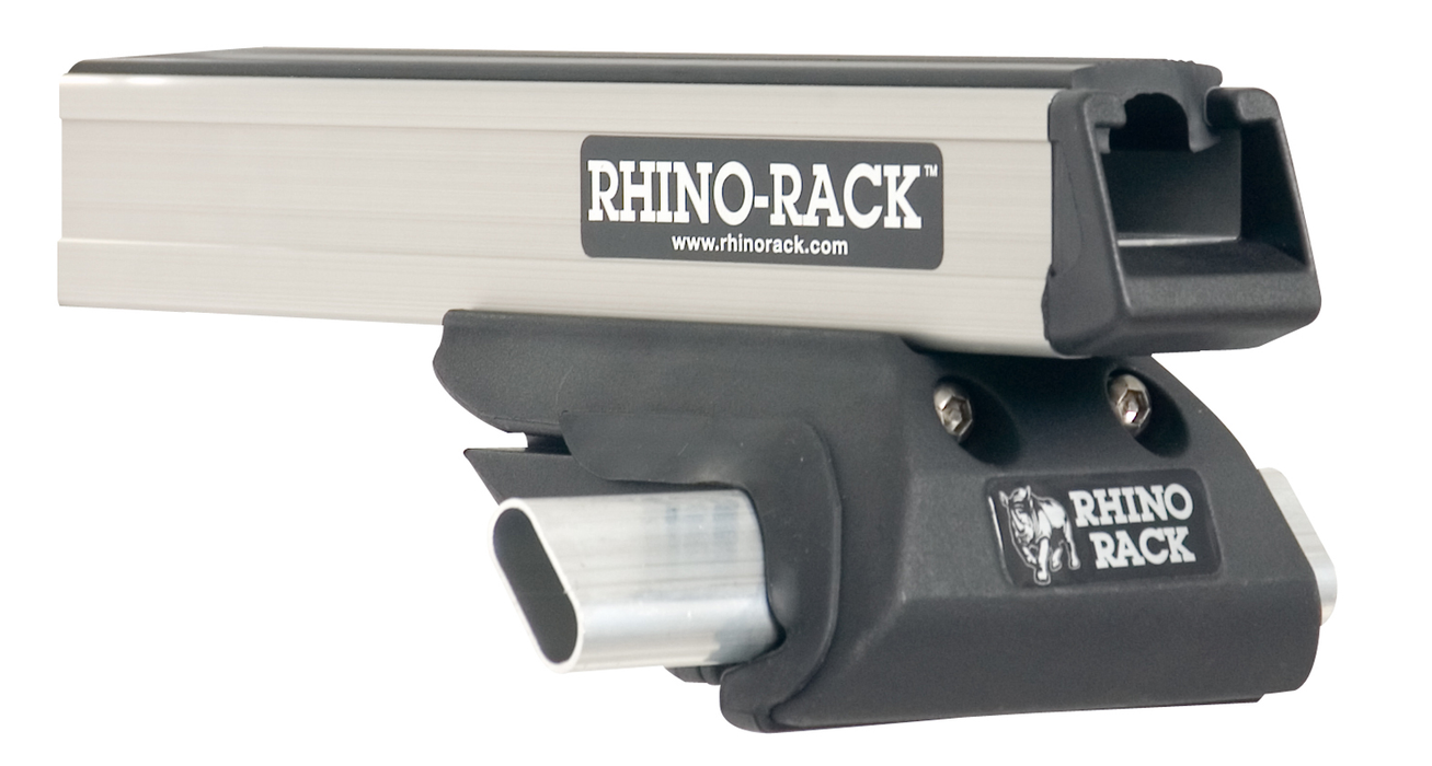 Rhino Rack JA8653 - Heavy Duty CXB Silver 2 Bar Roof Rack