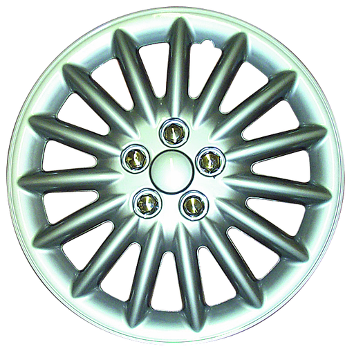 RTX 18818P Sets of 4 ABS Wheel Covers - Silver 18""