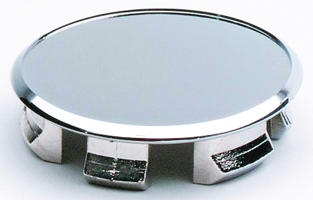 Ceco 105EZSS-60C - EZ-Lube Hub Cover, Center Cap, Stainless Steel, Diameter: 127.4 mm, Height: 109.7mm