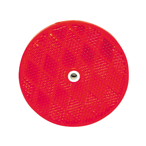 "2-3/8""CNTR MOUNT RFLCTR-RED"