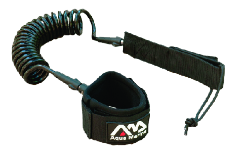 Aquamarina B0302203 - Coil Leash 8'
