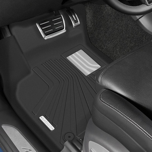 Husky Liners® • 70131 • MOGO • Floor Liners • Black • First Row