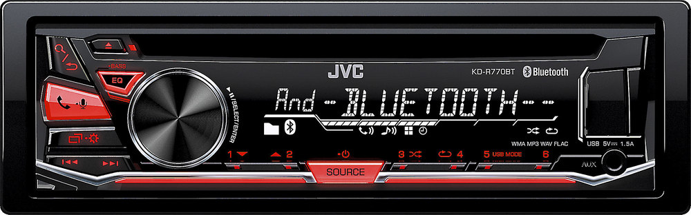 RADIO USB/CD/IPHONE/BLUETOOTH