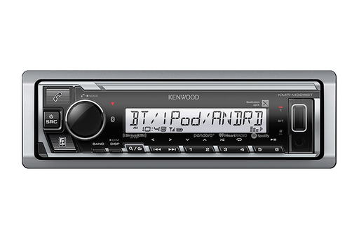 Kenwood KMR-M328BT - Marine/Motorsports Digital Media Receiver with Bluetooth