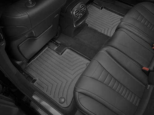Weathertech® • 4415112 • Molded Floor Liners • Black • Second Row