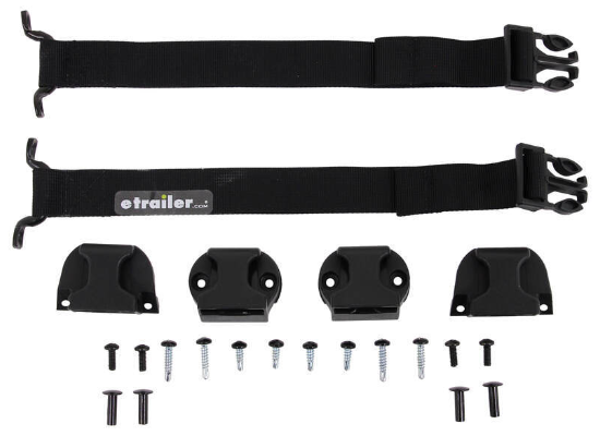 BAK PARTS-356A0009 - Complete Buckle & Strap Kit (D-Ring Replacement Upgrade)