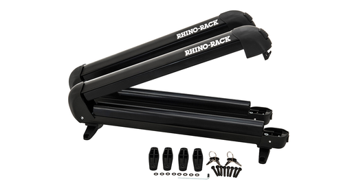 Rhino-Rack 574 - Ski and Snowboard Carrier - 4 Skis or 2 Snowboards