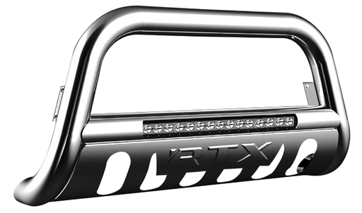 RTX RTX23011 - Stainless Steel Bull Bars With LED Dodge Ram 1500 2019